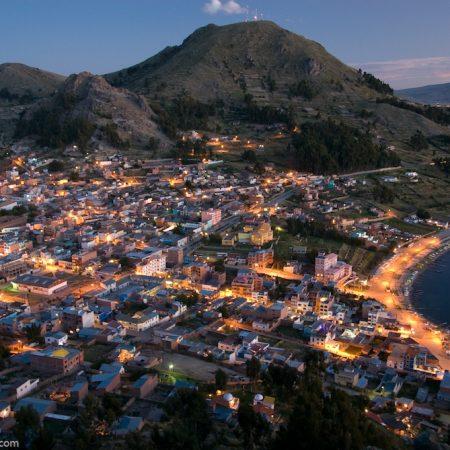 BOLIVIA LA PAZ COPACABANA ISLA DEL SOL