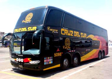 Bus Lima -Huaraz, Peru